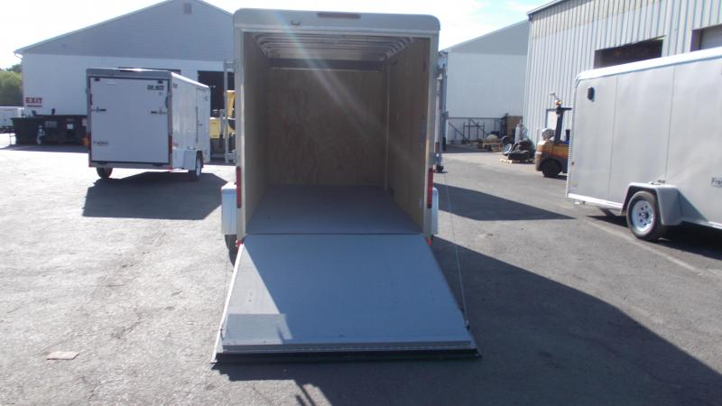 "2020 Car Mate 6 x 12 Cargo Trailer w/ 6"" ADD HGHT 2022430"
