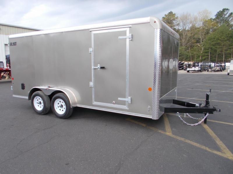 2021 Car Mate 7x16 7k Enclosed Cargo Trailer 2024067