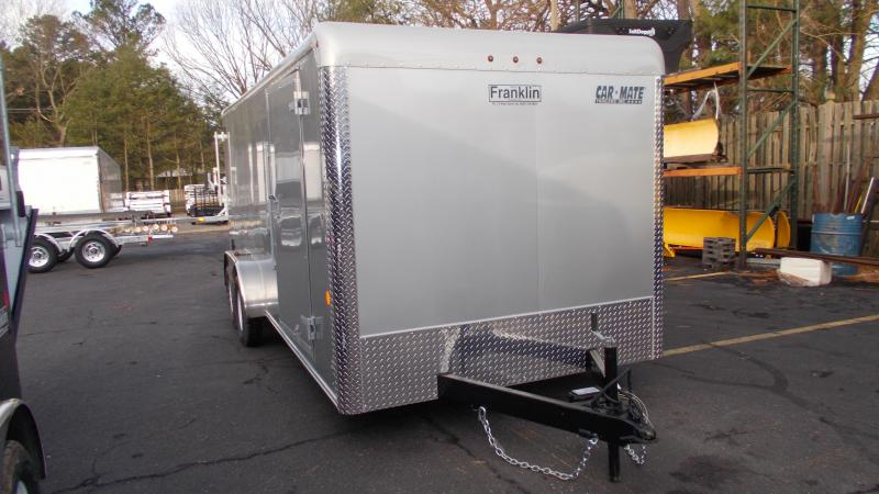 2021 Car Mate 7x18 Enclosed Cargo Trailer 2023332