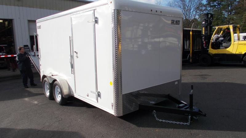 "2021 Car Mate Trailers 7x14 Cargo Trailer with 6"" Addt'l Height 2023218"