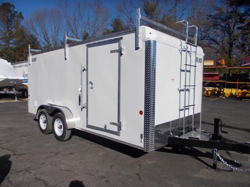 2021 Car Mate 7x16 Enclosed Cargo Trailer 2023668