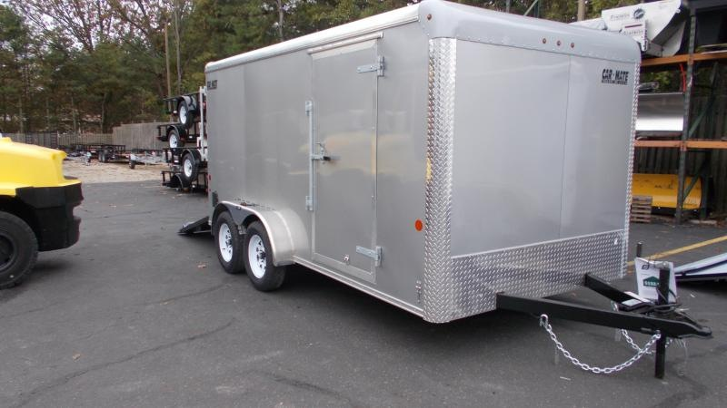 2021 Car Mate Trailers CM714CC-HD - 7'W Tandem Axle Custom Cargo Trailer Enclosed Cargo Trailer
