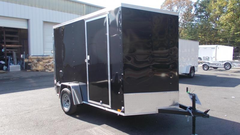 2021 Cargo Express 6X10 Enclosed Cargo Trailer 2023070