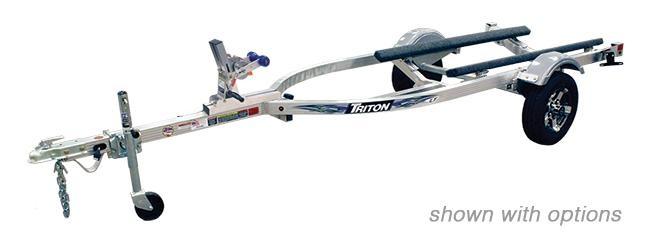 2021 Triton Trailers LTWCI-TX Aluminum Single Watercraft Trailer 2023065