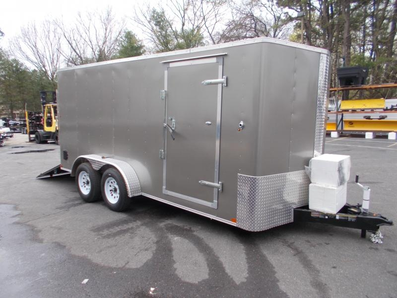 2021 Carry-On 7X16 7K Enclosed Cargo Trailer 2024023