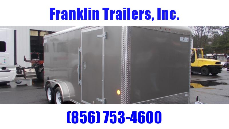 2020 Car Mate 7 X 16 Cargo Trailer 2022009