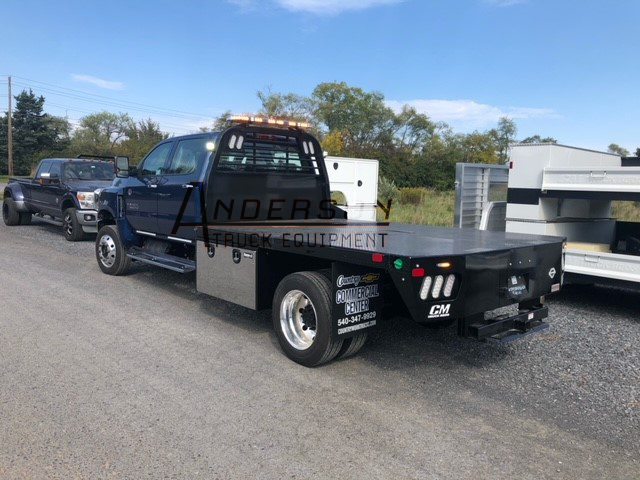 CM RD FLATBED - CHEV 4500/5500/6500 84CA DRW CAB CHASSIS