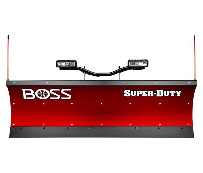 2020 BOSS SUPER-DUTY SB SNOW PLOW - 9' STEEL
