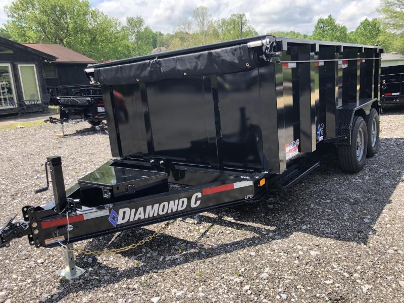 2021 Diamond C Trailers LPD207 14X82 Dump Trailer