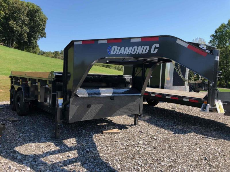 2022 Diamond C Trailers LPD207-GN 14X82 Dump Trailer
