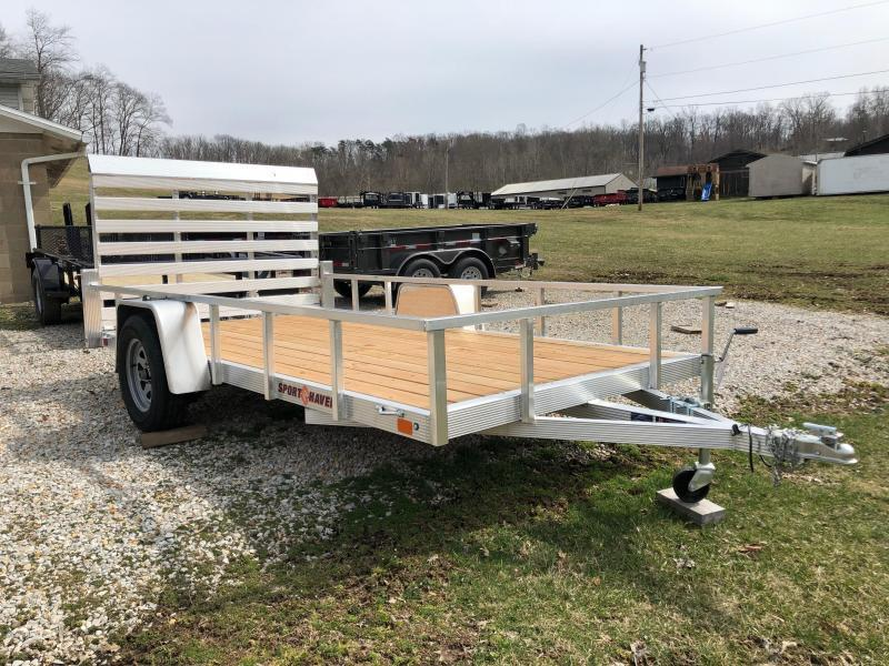 2021 Sport Haven AUT612 Aluminum Utility Trailer