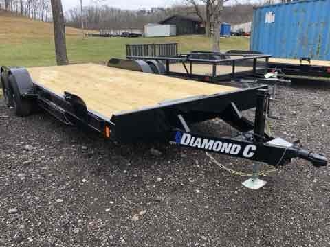 2021 Diamond C Trailers GTF252 20X82 Car Trailer