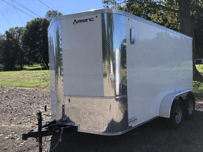 2021 Arising 712VTRW Enclosed Cargo Trailer