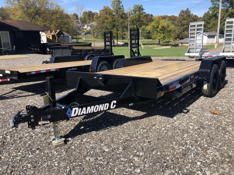 2021 Diamond C Trailers EQT207 16X82 Equipment Trailer