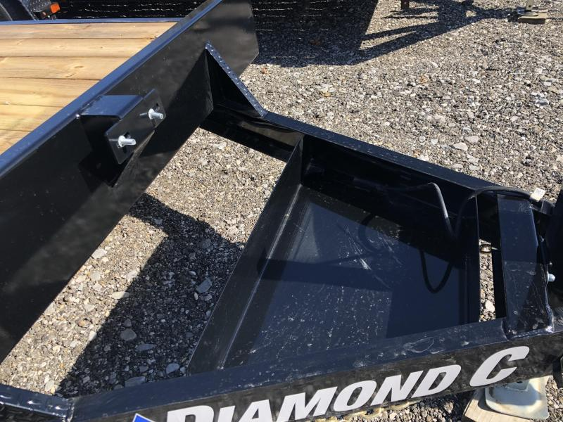 2021 Diamond C Trailers EQT207 16X82 Equipment Trailer