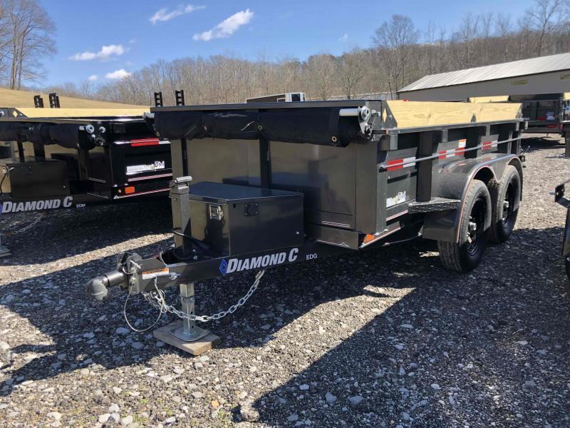 2021 Diamond C Trailers EDG235 10X60 Dump Trailer