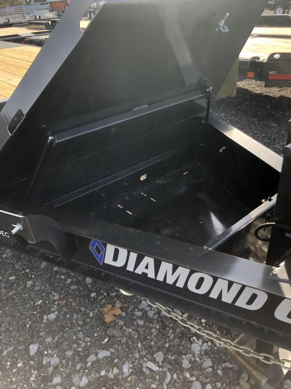 2021 Diamond C Trailers DEC207 24X102 Equipment Trailer