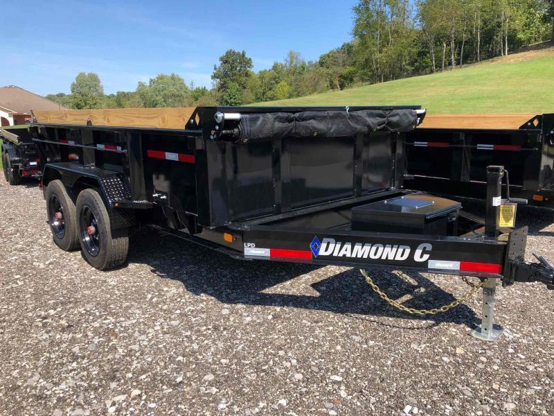 2022 Diamond C Trailers LPD208 12X81 Dump Trailer