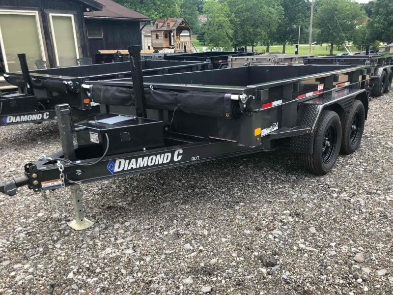 2021 Diamond C Trailers GDT235 10X77 Dump Trailer