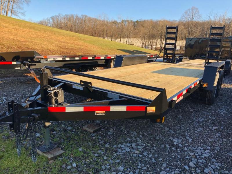 2021 Currahee E718.14KD Equipment Trailer