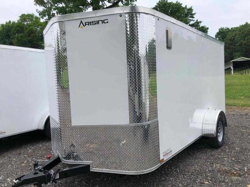 2021 Arising 712VSRW Enclosed Cargo Trailer
