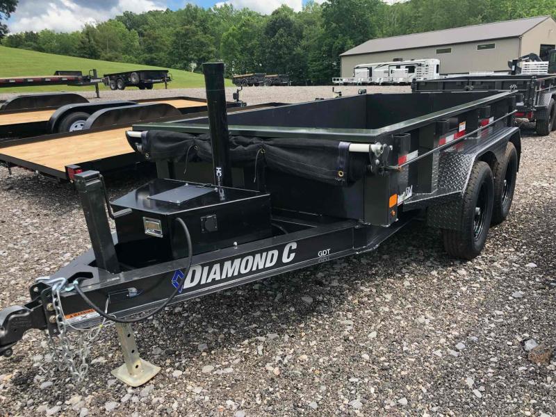2021 Diamond C Trailers GDT235 10X60 Dump Trailer