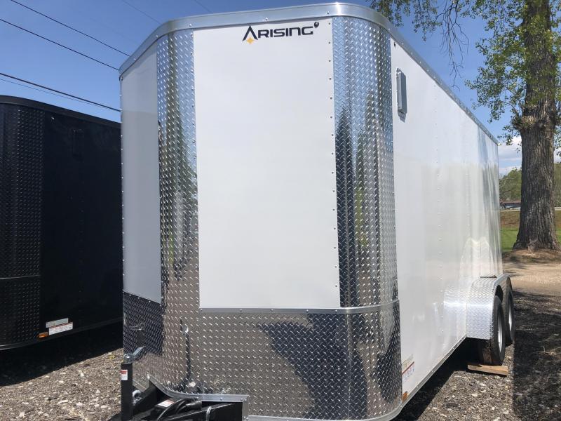 2021 Arising 716VTRW Enclosed Cargo Trailer w/ 7' Interior Height