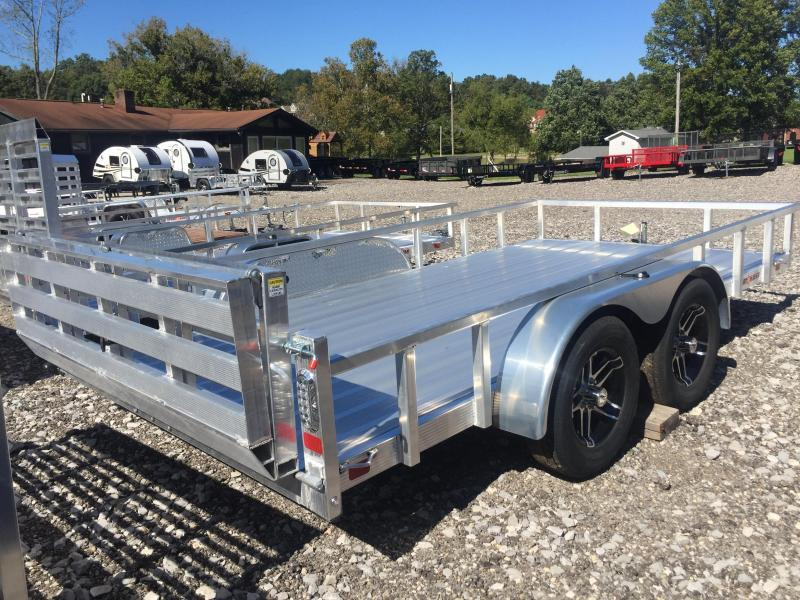 2021 Sport Haven AUT716TD-F Aluminum Utility Trailer