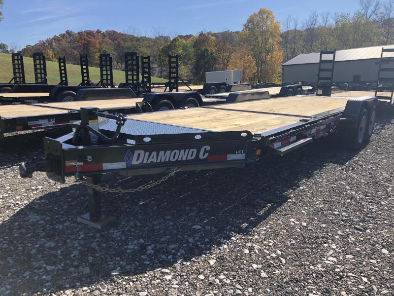 2021 Diamond C Trailers HDT208 22X82 Equipment Trailer