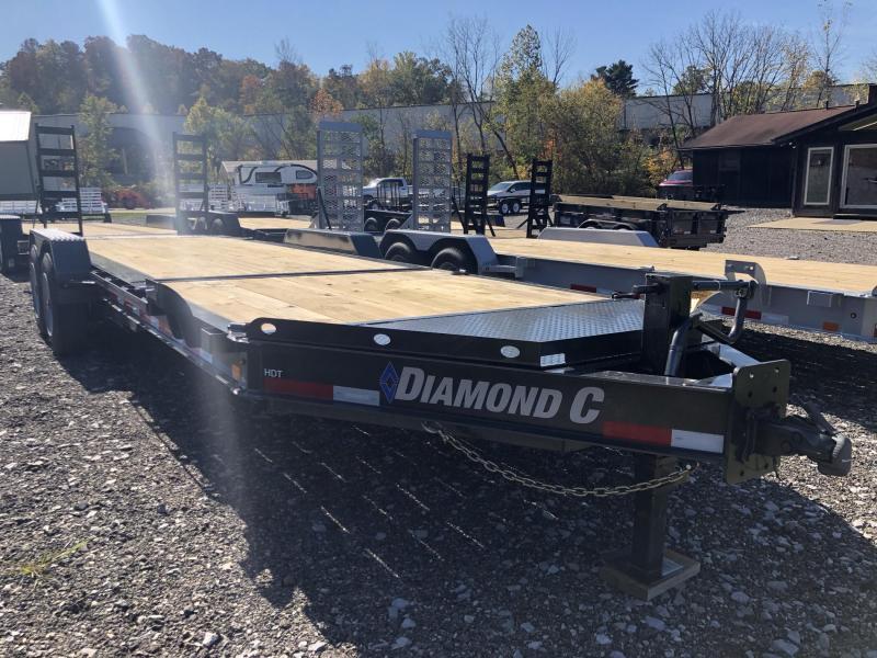 2021 Diamond C Trailers HDT208 22X82 Equipment Trailer