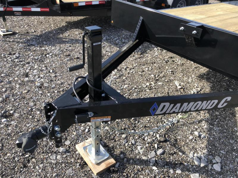 2021 Diamond C Trailers GDD235 20X102 Equipment Trailer