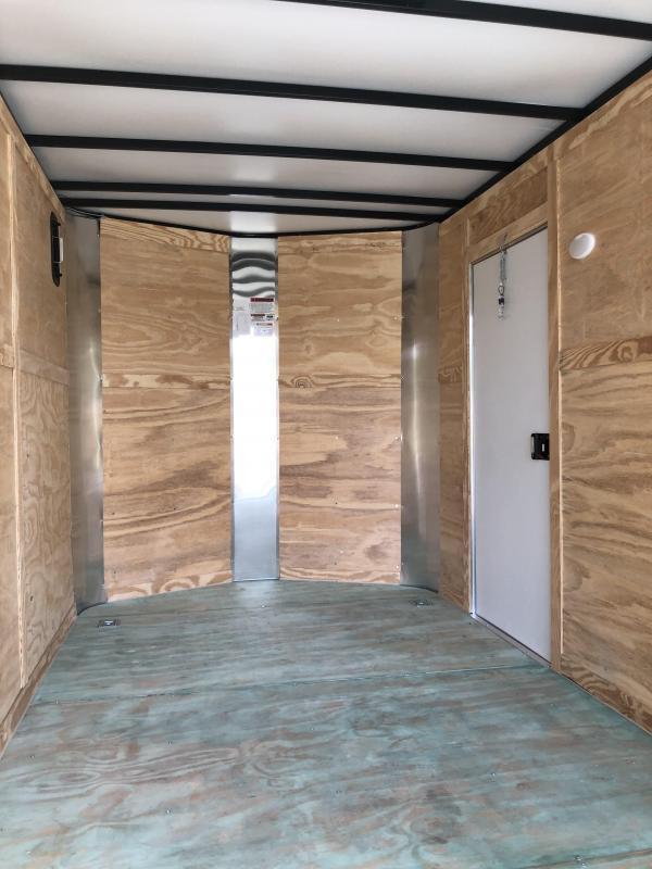 2021 Arising 712VTRB Enclosed Cargo Trailer w/ 7' Interior Height