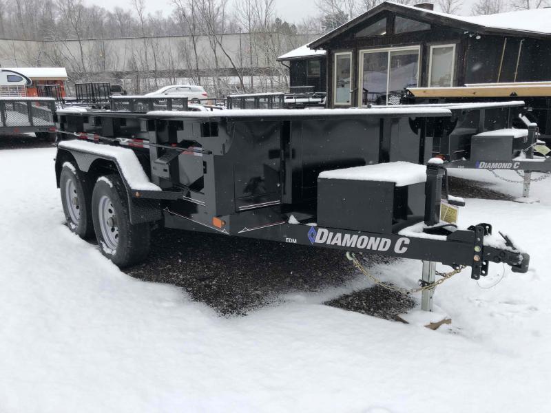2019 Diamond C Trailers EDM252 10X77 Dump Trailer