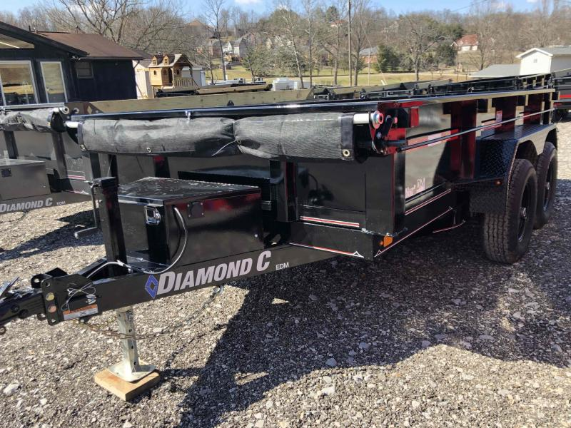 2021 Diamond C Trailers EDM252 12X77 Dump Trailer