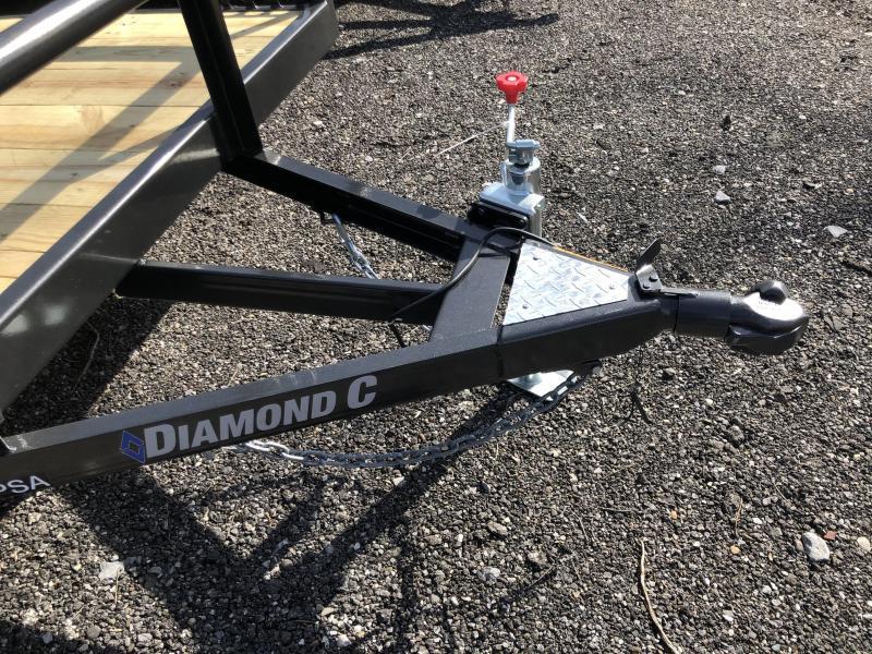 2021 Diamond C Trailer PSA135 12X77 Utility Trailer