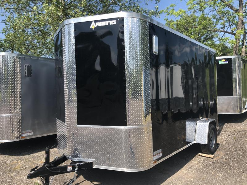 2021 Arising 712VSRB Enclosed Cargo Trailer With 7' Interior Height