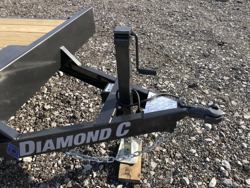 2021 Diamond C Trailer GTF235 22X83 Equipment Trailer