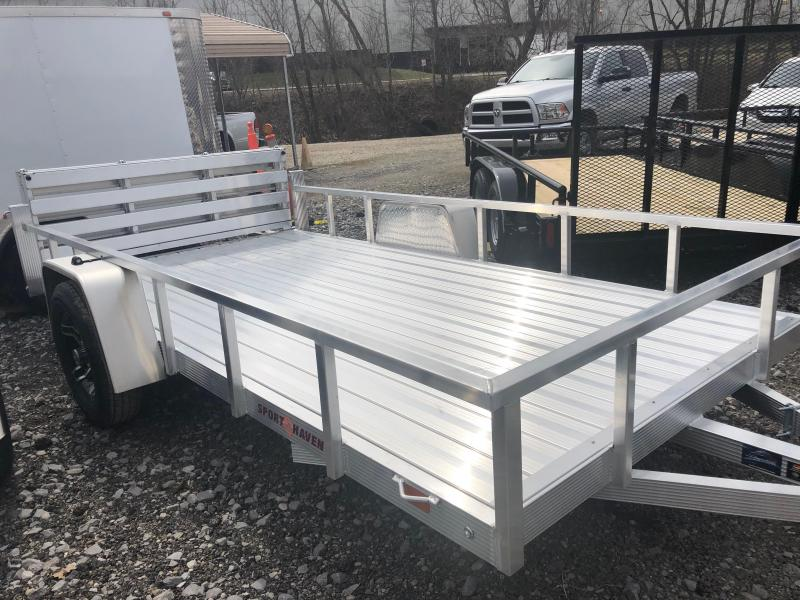 2021 Sport Haven AUT612D-F Utility Trailer