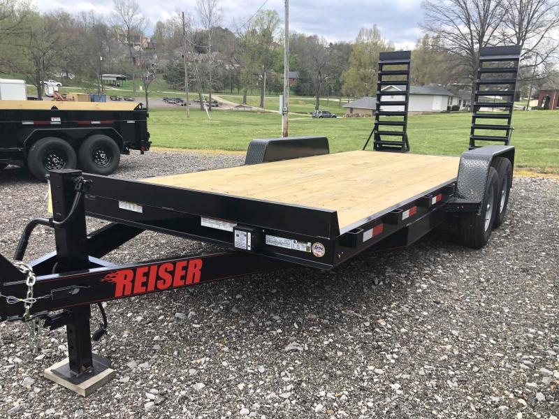 2021 Reiser Trailers ET1814K Equipment Trailer