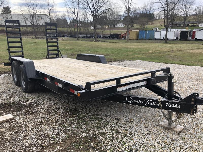 2018 Quality Trailers 82X18 Equipment Trailer *Rental*