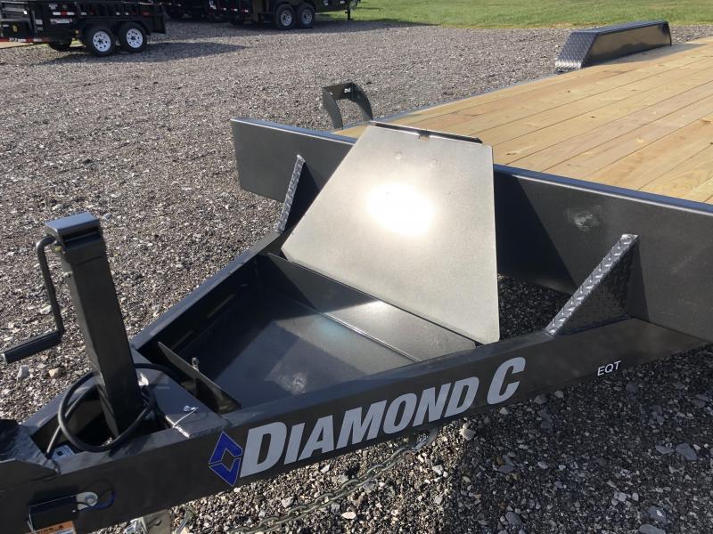 2021 Diamond C Trailer EQT207 22X82 Equipment Trailer