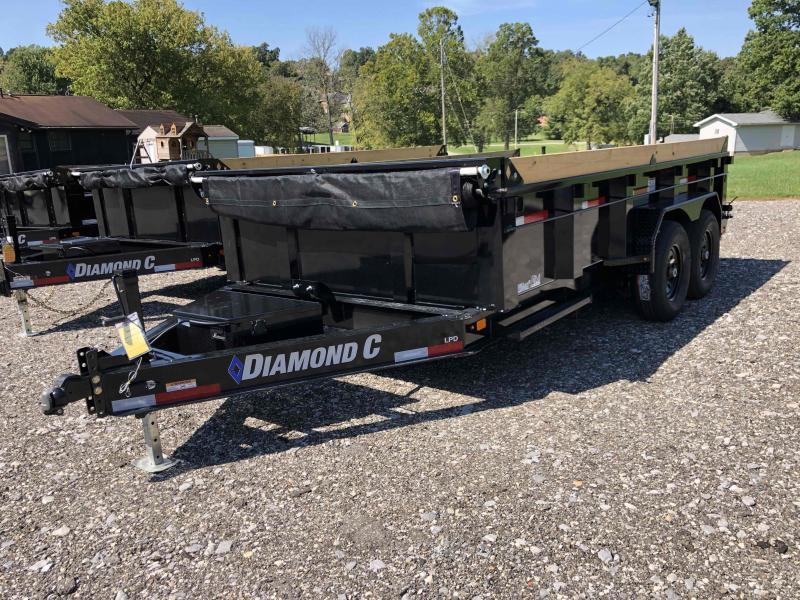 2022 Diamond C Trailers LPD207 14X82 Dump Trailer