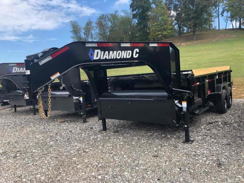 2022 Diamond C Trailers LPD208 16X81 Dump Trailer