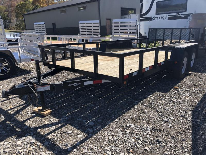 2014 Down 2 Earth Trailers DTE616UT3.5B Utility Trailer