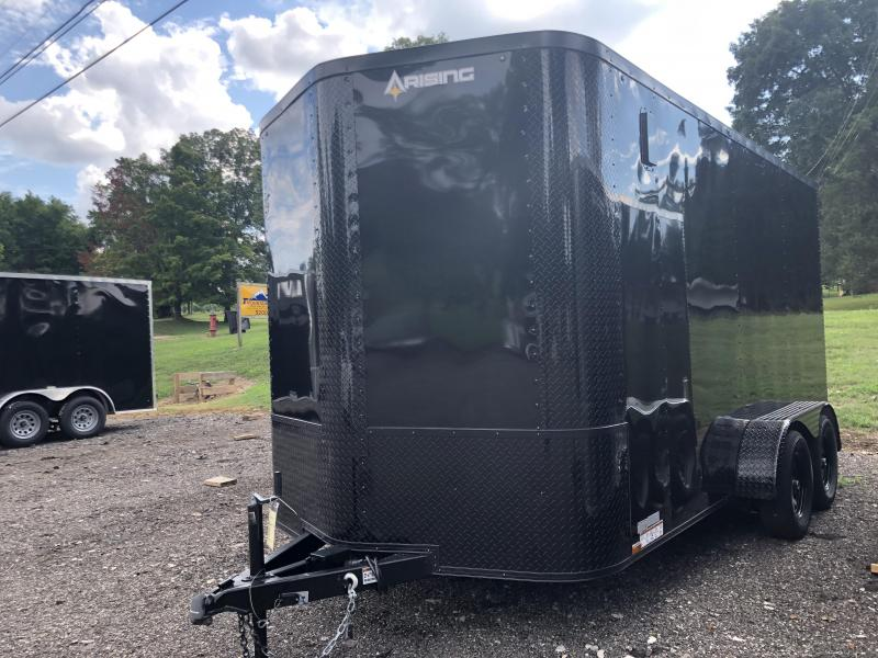 2020 Arising 714VTRB Enclosed Cargo Trailer w/ 7' Interior Height