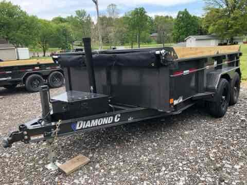 2021 Diamond C Trailers MDT206 12X77 Dump Trailer