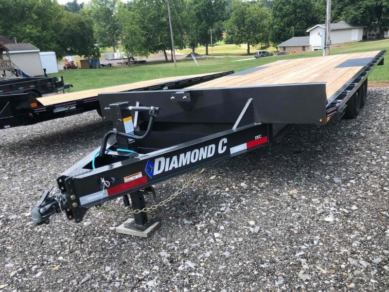 2021 Diamond C Trailers DEC207 20X102 Equipment Trailer