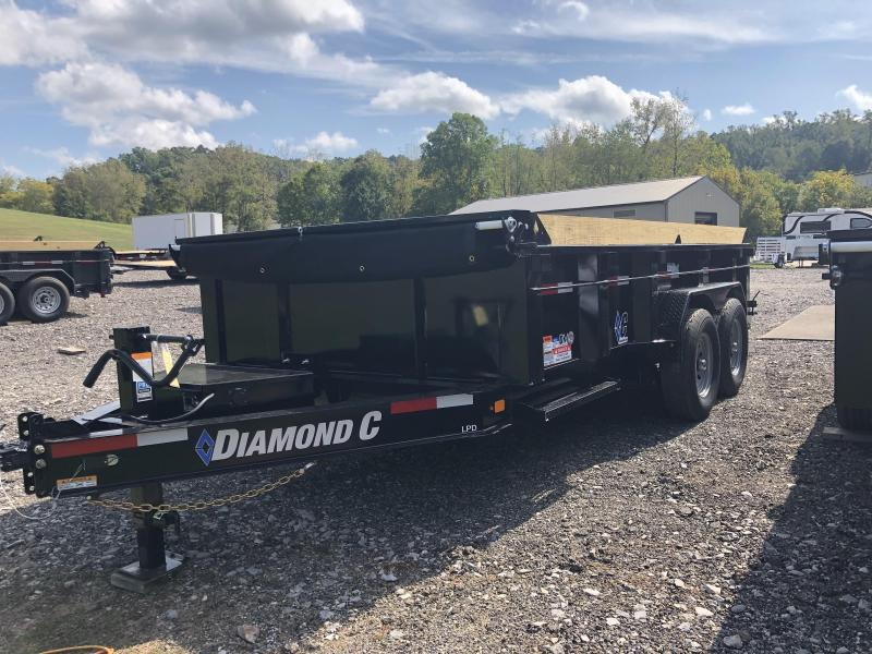 2021 Diamond C Trailer LPD207 14X82 Dump Trailer