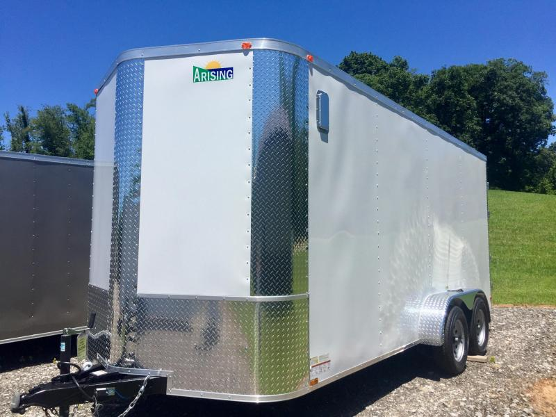 2020 Arising 716VTDW Enclosed Cargo Trailer With 7' Interior Height