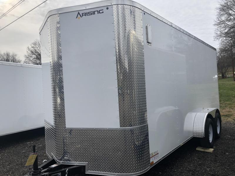 2021 Arising 716VTDW Enclosed Cargo Trailer With 7' Interior Height